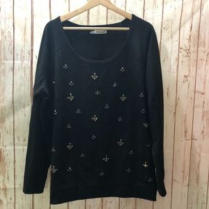 Maurices Plus Size Jeweled Sweater